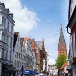 Fußgängerzone in Flensburg